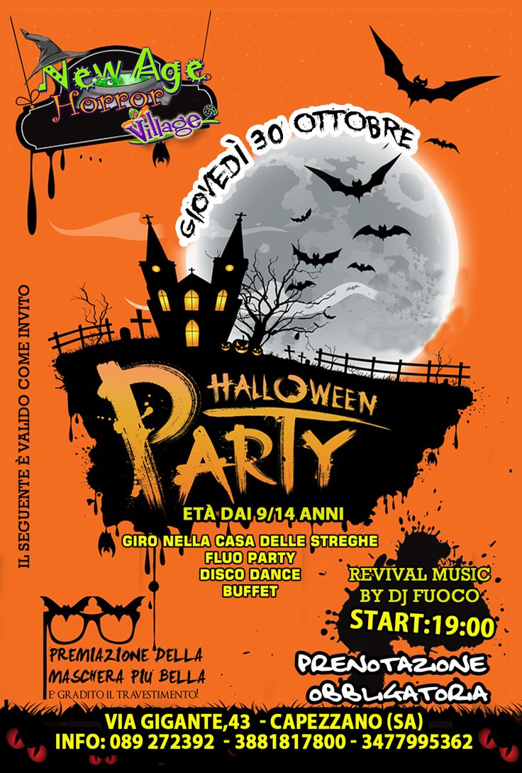 HALLOWEEN PARTY TEENAGERS @ new age village - 30-Ottobre https://www.evensi.com/-halloween-party-teenagers-new-age-village/133703184