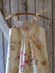 Vintage Style Girl's Dress Pattern PDF Tutorial, Girl's Sewing pattern ...
