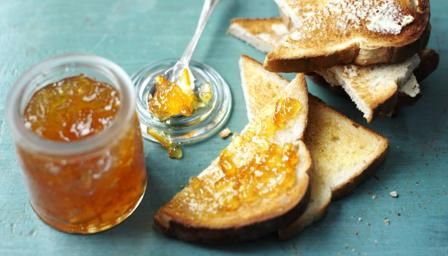 Orange marmalade & toast