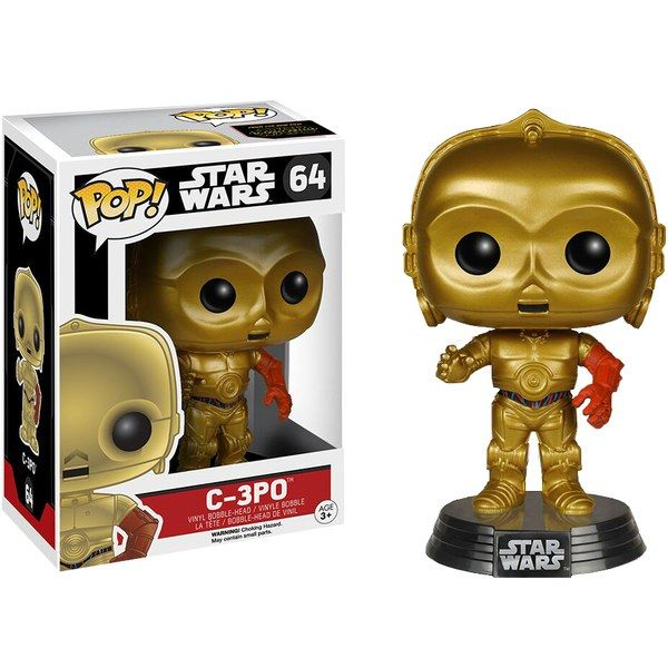 Star Wars The Force Awakens C-3PO  Pop! Vinyl Figure #starwars #theforceawakens #c3po