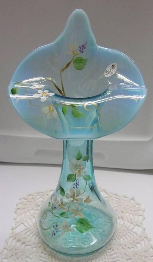 177 Best Images About Vintage Fenton Glassware Collection On Pinterest Cobalt Blue Glass Vase