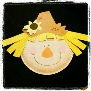 paper plate scarecrow crafts (2)