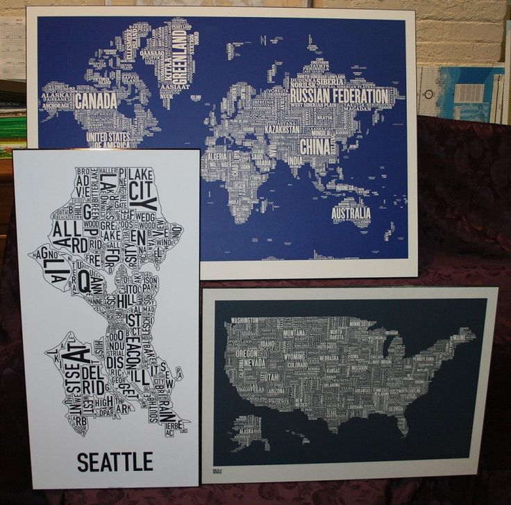 Seattle Map Funny%0A Type Maps