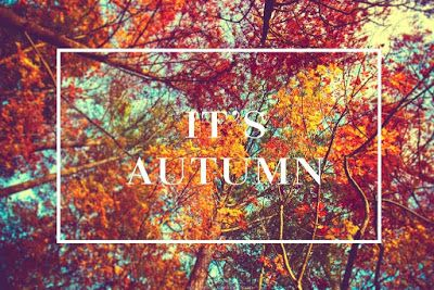 Lifestyle and personal blog: Autumn