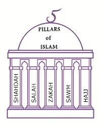 Rituals and Ceremonies- Five Pillars of Faith. Shahadah-declaration of faith. Salah-must pray 5 times a day to their god.  Zakat-Religious alms-giving.  Sawm-fasting during the holy month.  Hajj-pilgrimage to Mecca.