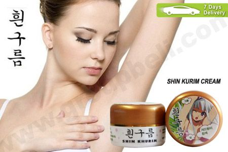 Shin Khurim Whitening Cream untuk memutihkan bagian ketiak dan selangkangan agar kembali putih hanya Rp 38.000 http://groupbeli.com/view.php?id=482