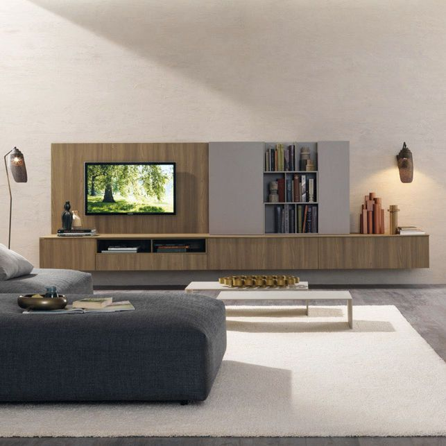 tv wall unit elm z453 zalf