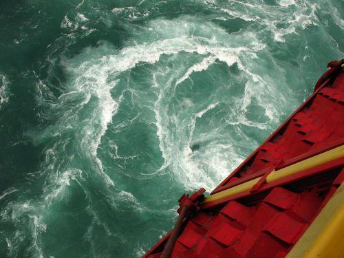 Whirlpool taken from the Aerocar in Niagara Falls, Canada ...