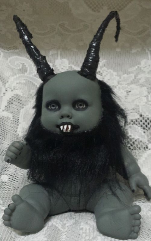 Zombie Baby Krampus, Ebay