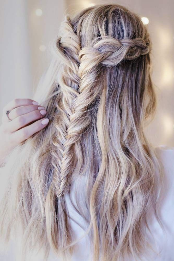 27 Perfect Prom Hair Styles For Short Medium And Long Hair Hair Styles Braids For Long Hair Long Hair Styles