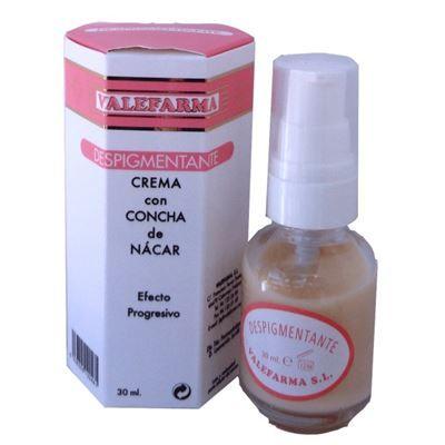 Crema despigmentante con concha de nácar