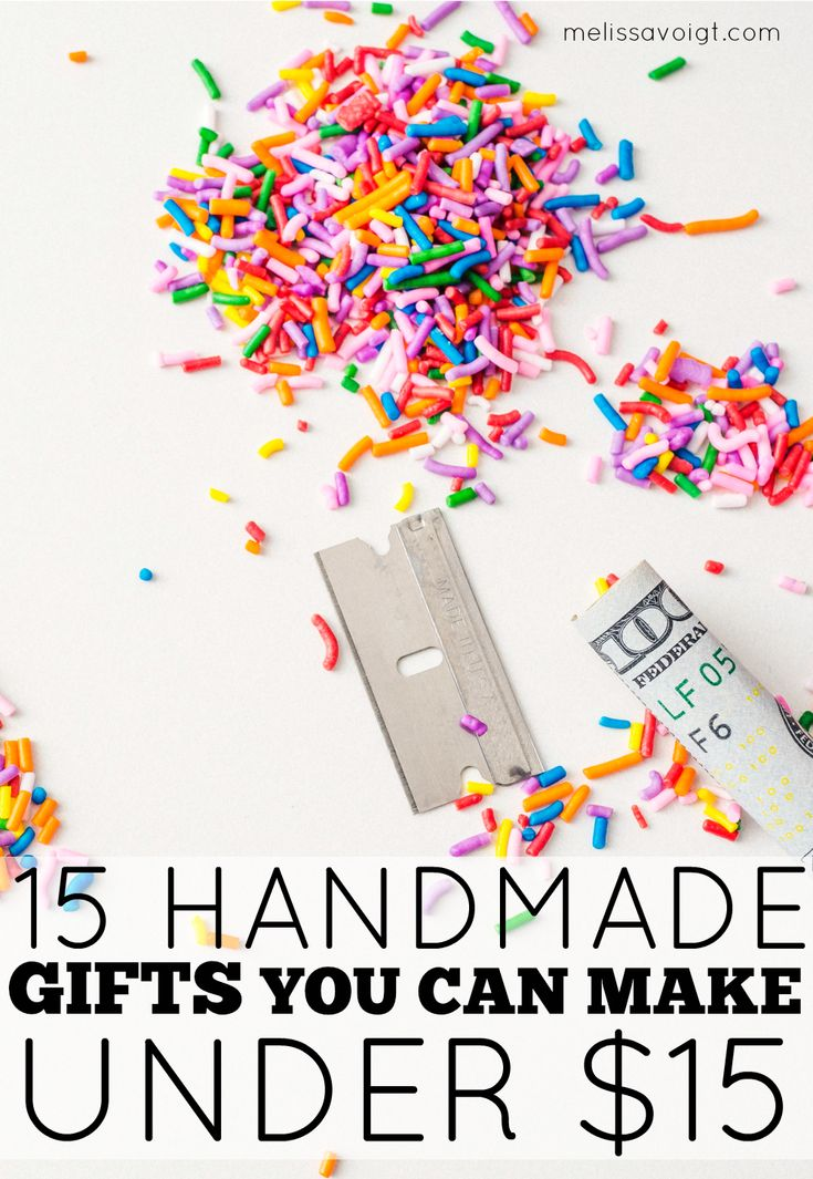 Need a gift for a friend or family member that is on-budget? Check out our 15 handmade gift ideas that are sure impress your friends. Our gifts are budget-friendly and frugal. You don't need any special skills to create beautiful handmade gifts your friends and family will love!