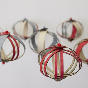 Wooden Ornament by Fleet: Made of flexible plywood. http://tinyurl.com/7qljcwr  $15.  #Ornament #Fleet
