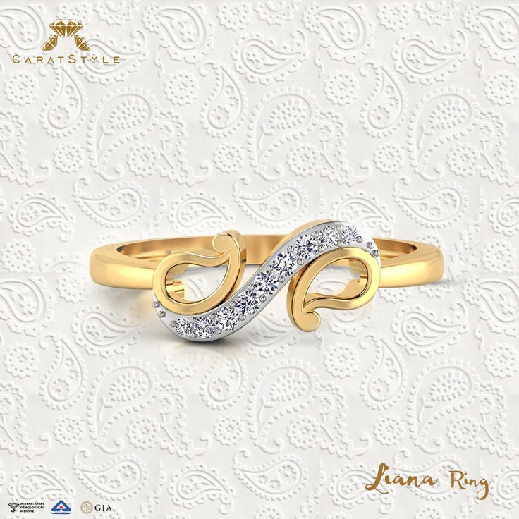 Simplistic #jewellery to sport everyday at all times. #ring‬ #ecommerce #online #shopping #india #lifestyle #gold #diamond