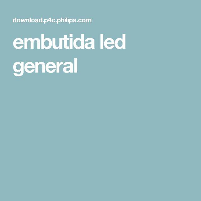 embutida led general