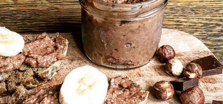 Sund og hjemmelavet nutella