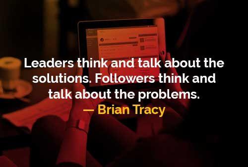 Pemimpin dan Pengikut Versi Brian Tracy