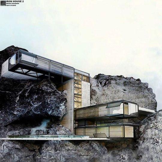 """RON HOUSE 2"" Favv.studio by @erfan_shaabanii"