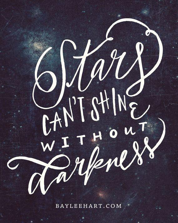 Stars Can't Shine by WhimseyandWanderlust on Etsy, $13.00