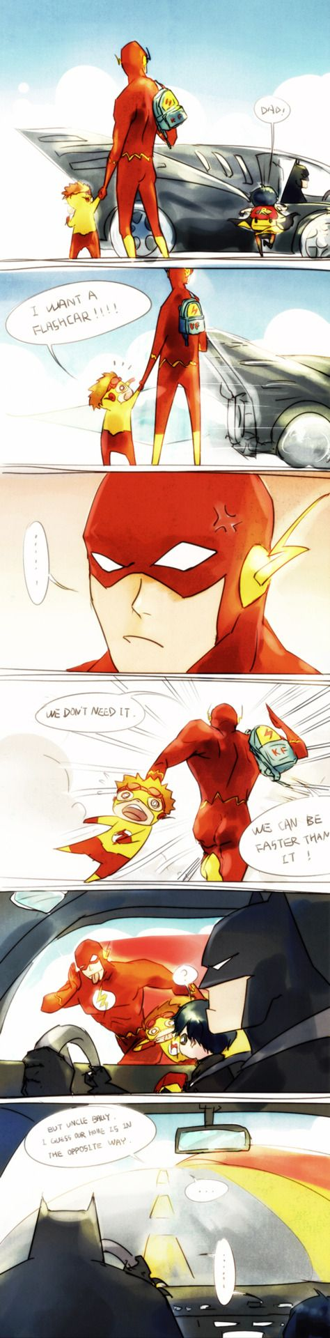 I want a Flashcar!! Uncle Barry