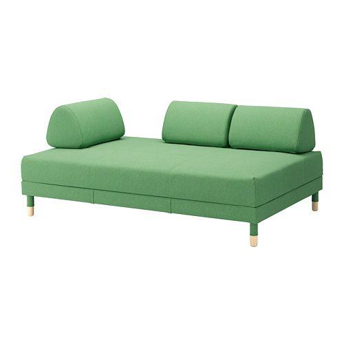 Chaise Sofa FLOTTEBO Sleeper sofa Lysed green