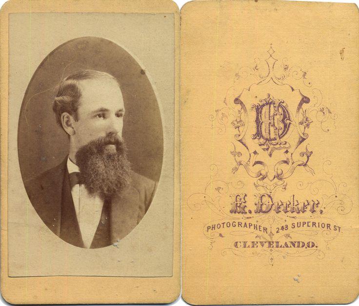 Beards of the 19th Century: CdV 39