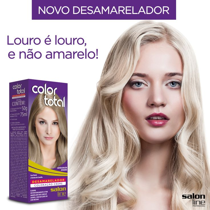 #salonline #desamarelador #colortotal
