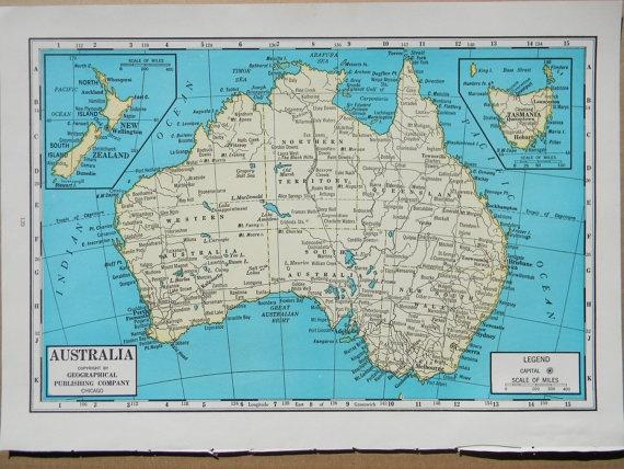 Australia by a d hope