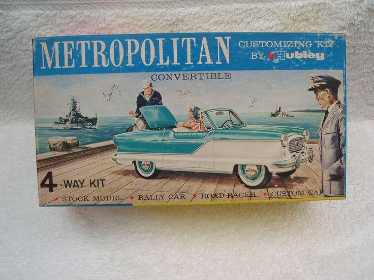 Very Rare 1 24 Scale Austin Nash Metropolitan Convertible