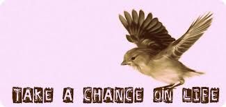 Take an chance on life