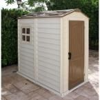 Duramax Building Products Store Pro 4 ft. x 6 ft. Shed with Floor 30621 at The Home Depot - Mobile