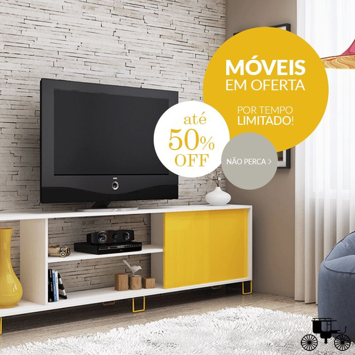 Aproveite! Últimos dias de oferta de móveis com até 50% OFF!  http://carrodemo.la/26aea