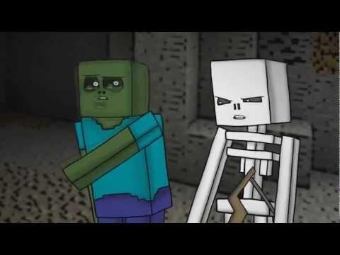 приколы майнкрафт Mob Squad- МОБ-ОТРЯД Minecraft мультфильм  приколы майнкрафт
