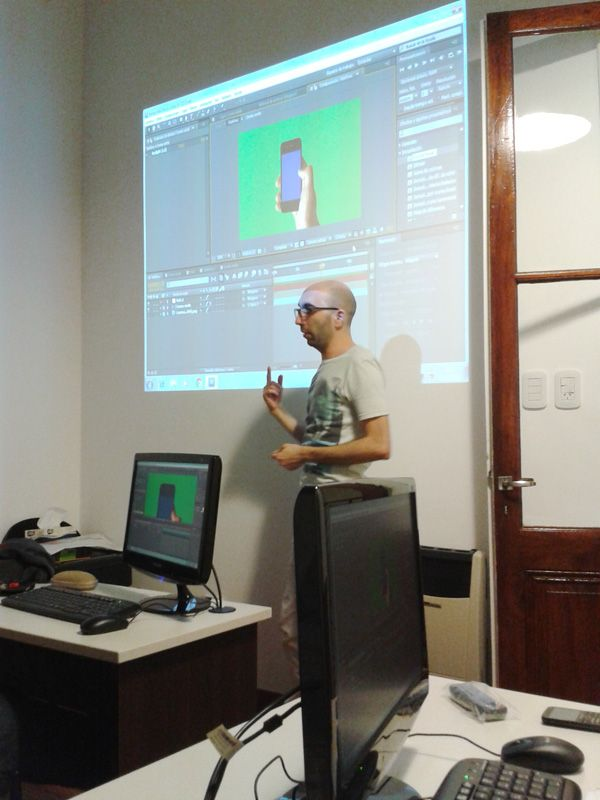 Foto del curso de Adobe After Effects. http://www.onoffsolutions.com.ar/cursos-rosario/curso-after-effects