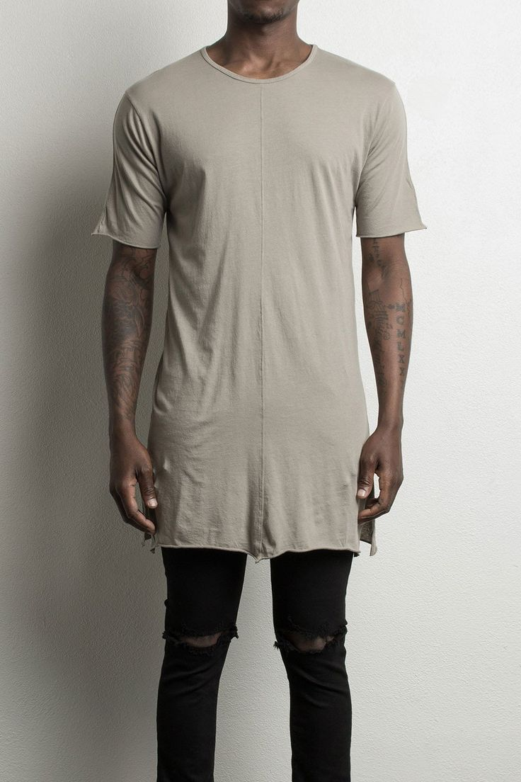 loose tee / wheat