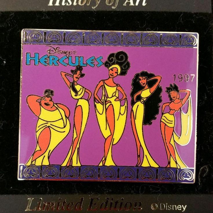 Disney Japan History of Art - Hercules Muses Greek Mythology Error LE Pin | Collectibles, Disneyana, Contemporary (1968-Now) | eBay!