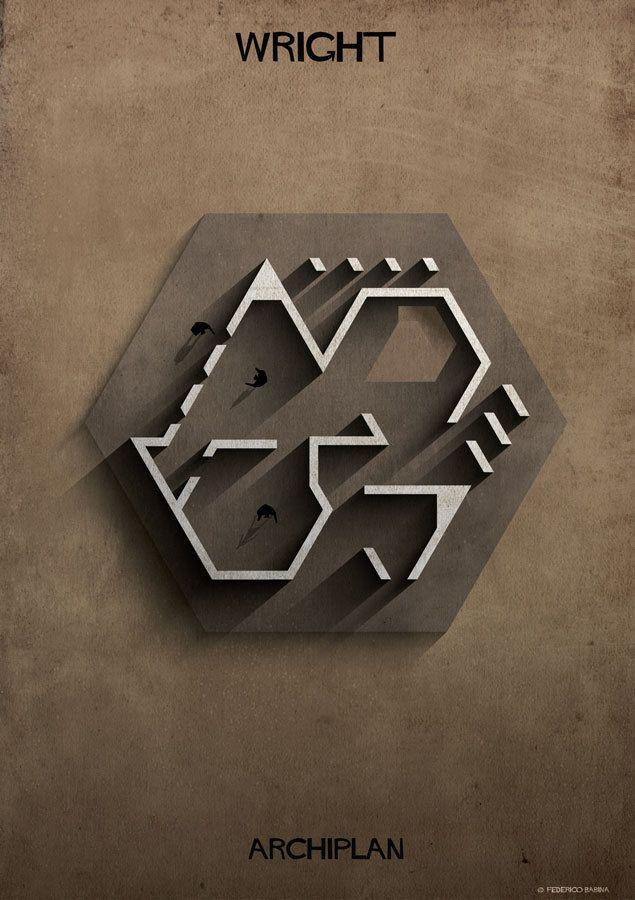 Gallery of Federico Babina's ARCHIPLAN Illustrations Analyze the Floorplans of Master Architects - 19