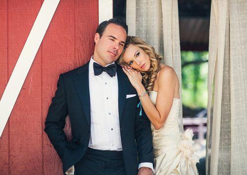 Sweet couple photo at Calamigos Ranch wedding, with photos by Joy Marie Studios | junebugweddings.com