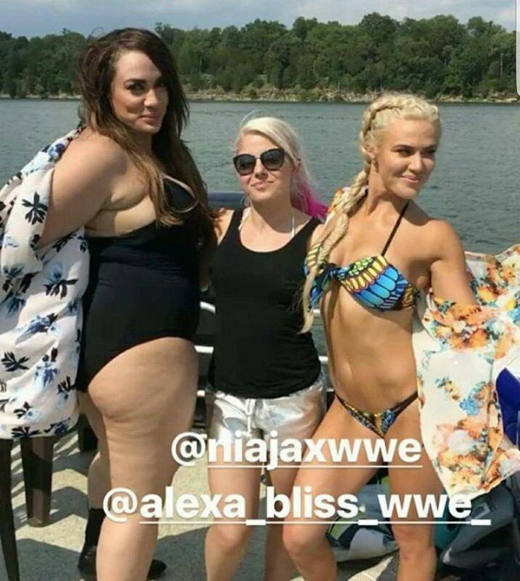 I Love lady bikini and Nia Jax