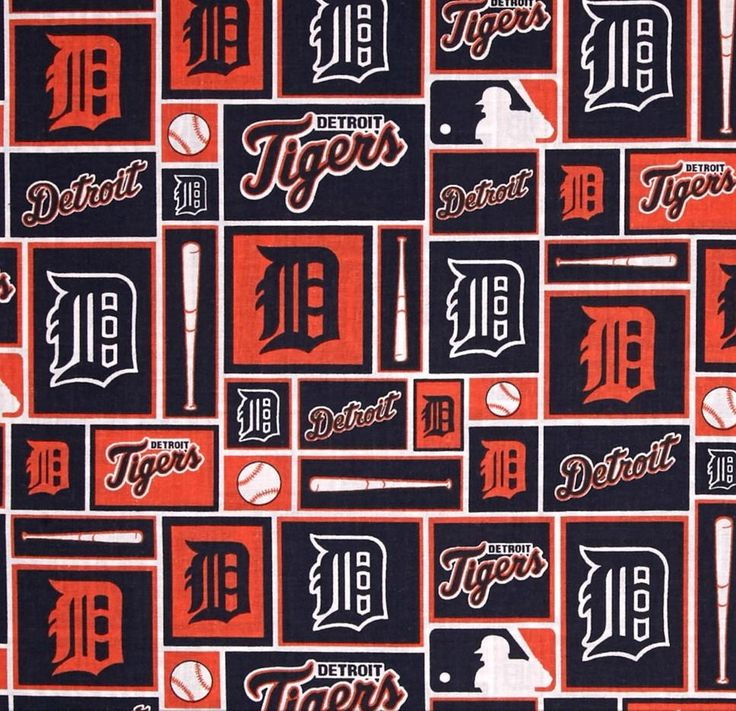 MLB Detroit Tigers Complete Baseball Throw pillow, sports fan, decorative pillow, gift, pillow cover, man cave, offical fabric by BBCraftsCollectables on Etsy