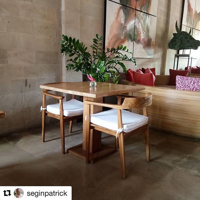 Rouge Bali, Restaurant in ubud #restaurant #ubud #bali #interiordesign #table #chair #indonesia #lounge #bar #spa #villa