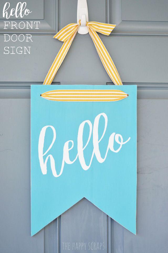 Best 25+ Door signs ideas on Pinterest | Initial door hanger Welcome signs and Home signs  sc 1 st  Pinterest & Best 25+ Door signs ideas on Pinterest | Initial door hanger ...