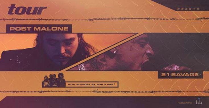 "21 Savage & Post Malone ""The Two RockStars"" Tour 2018   BESTDAMNTOURS   http://bestdamntours.com/hiphoprap/21-savage-post-malone-rockstar-tour/"
