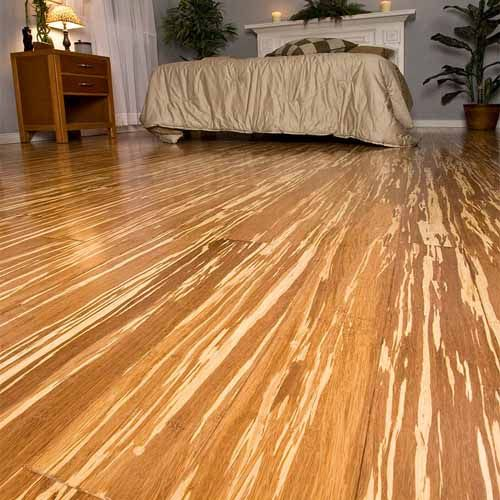 Tiger strand bamboo is eco friendly and gorgeous for Eco friendly bamboo flooring