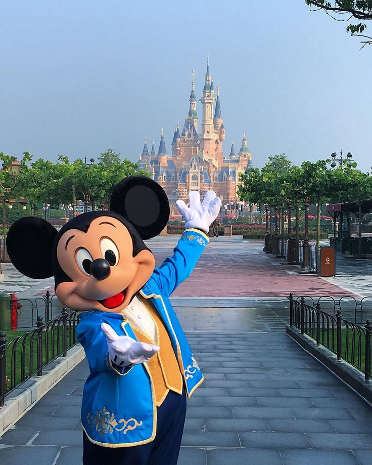 Shanghai Disney Resort - Mickey Mouse:)