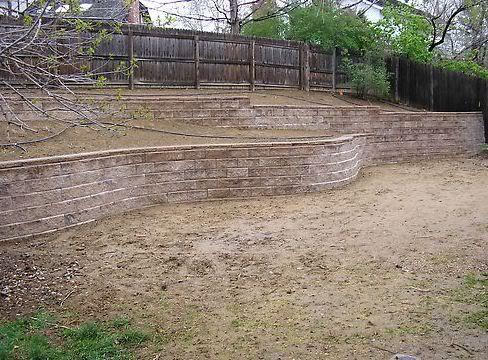 Retaining Wall Ideas | Colorado Deck | Retaining Wall Design Aurora CO | Retaining  Wall .