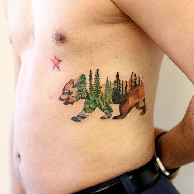 California grizzly bear #tattrx #tattooed #tattooer #tattooart #the_inkmasters #tattooistartmag #ink #inked #igdraws #inkedmag #inkjunkeyz #photooftheday #nawden #newink #newtraditional #bodyart #handdrawn #design #dotism #daily__art #dotsandpatterns #sweettat #superbtattoos #superb_tattoos #artofdrawingg #artmotive