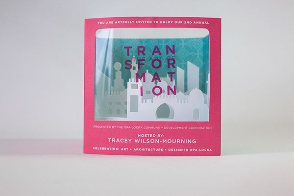 The Art of Transformation: 3-d Invite on Behance