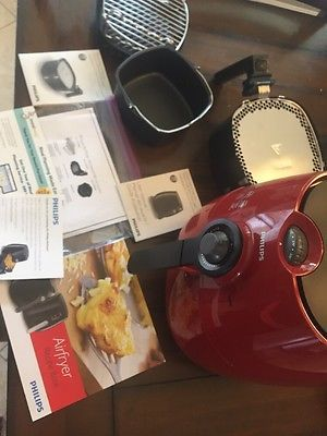 Рriсе - $250.00. NEW Philips Viva Collection Air Fryer - Low-Fat Multicooker (HD9220) Red ( Brand - Philips, Type - Airfryer, Color - Red, Power - 1425W, Model - Viva Collection, Multicooker - Yes, MPN - Hd9220, Model Number - HD9220, Lister - RM, UPC - Does not apply    )