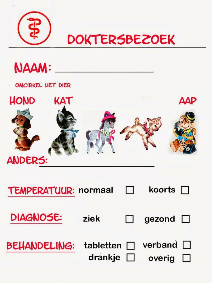 Zieke huisdieren bij de dierenarts
